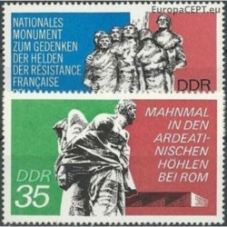 East Germany 1974. Monument...