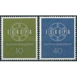 West Germany 1959. Europa...