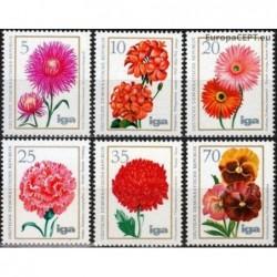 East Germany 1975. Flowers