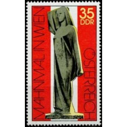 East Germany 1975. Monument...