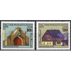 Rytų Vokietija 1975. Pašto...