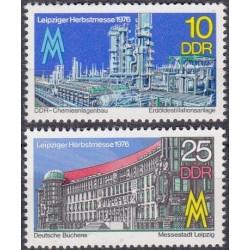 East Germany 1976. Leipzig...