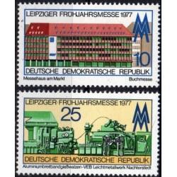 East Germany 1977. Leipzig...