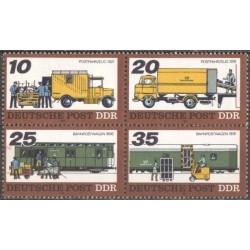 Rytų Vokietija 1978. Pašto...