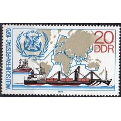 East Germany 1979. Ship...
