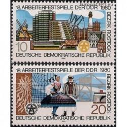 East Germany 1980. National...