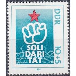 East Germany 1980. Solidarity