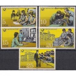 Rytų Vokietija 1981. Pašto...