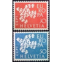 Šveicarija 1961. CEPT:...