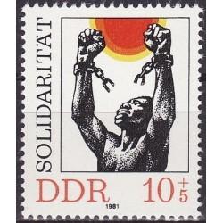 East Germany 1981. Solidarity