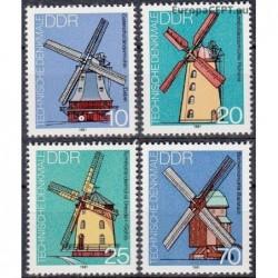 East Germany 1981. Windmills