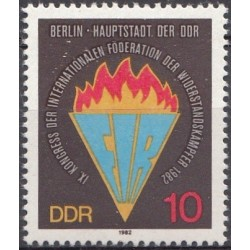 East Germany 1982. Conference
