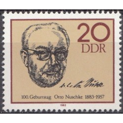 East Germany 1983. Politician