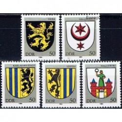 Rytų Vokietija 1984. Miestų...