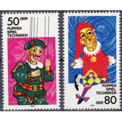 East Germany 1984. Puppets,...