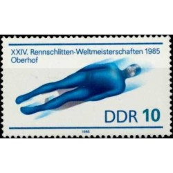 East Germany 1985. Bobsleigh