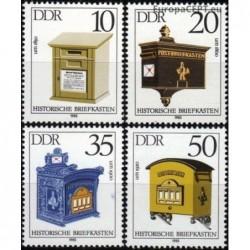 Rytų Vokietija 1985. Pašto...