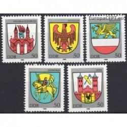 Rytų Vokietija 1985. Miestų...