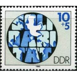 East Germany 1985. Solidarity
