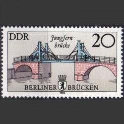 East Germany 1985. Bridges