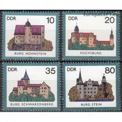 East Germany 1985. Castles