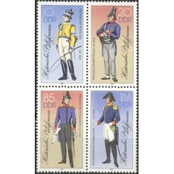 Rytų Vokietija 1986. Pašto...