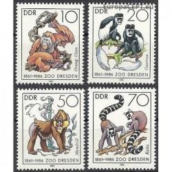 East Germany 1986. Monkeys
