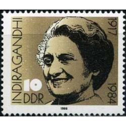 East Germany 1986. Indira...