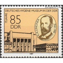 East Germany 1987. Museum...