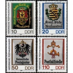 East Germany 1990. Post...
