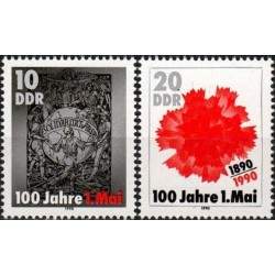 East Germany 1990. 1st of May