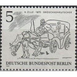 West Berlin 1969. Transport...