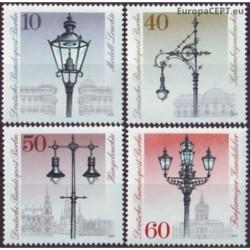 West Berlin 1979. Street lamps