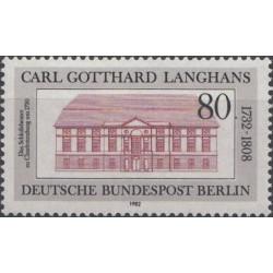 West Berlin 1982. Architecture