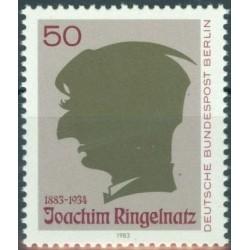West Berlin 1983. Writer
