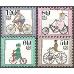 West Berlin 1985. Bicycles