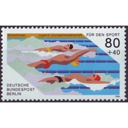 West Berlin 1986. Swimming