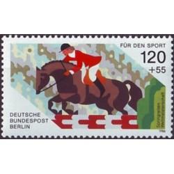 West Berlin 1986. Horse riding