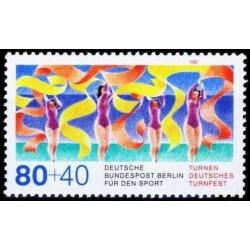 West Berlin 1987. Gymnastics