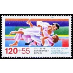 West Berlin 1987. Judo