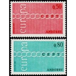 Andora (pranc) 1971. CEPT:...