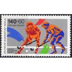 West Berlin 1989. Field hockey