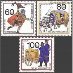 Vakarų Berlynas 1989. Pašto...