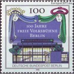 Vakarų Berlynas 1990. Teatras