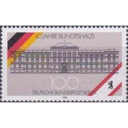 West Berlin 1990. Federal...