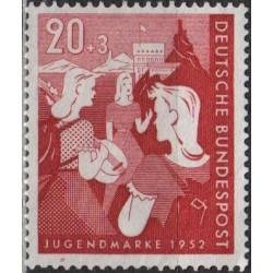 Vokietija 1952. Jaunimas