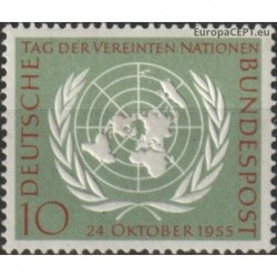 Germany 1955. United Nations