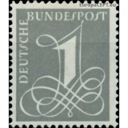 Germany 1955. Definitive issue
