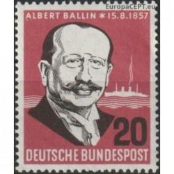 Germany 1957. Albert Ballin...