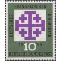 Germany 1959. Evangelical...